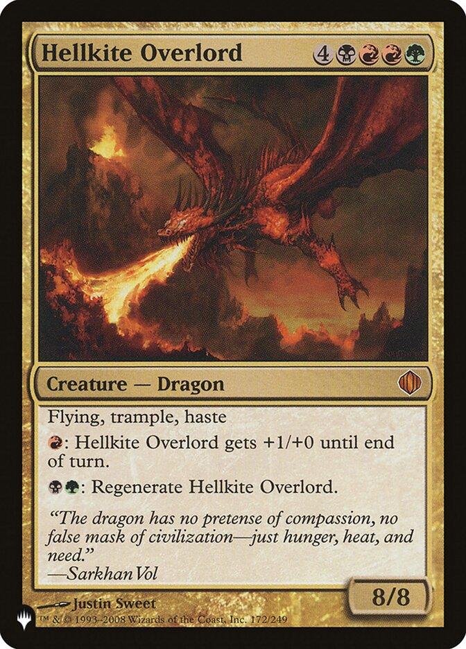 Hellkite Overlord - The List