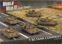 TSBX21: T-80 Tank Company (x5 Plastic)