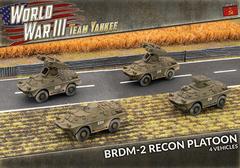 TSBX24: BRDM-2 Recon Platoon (x4 Plastic)