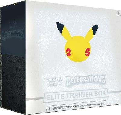 Celebrations Elite Trainer Box LIMITED PER CUSTOMER