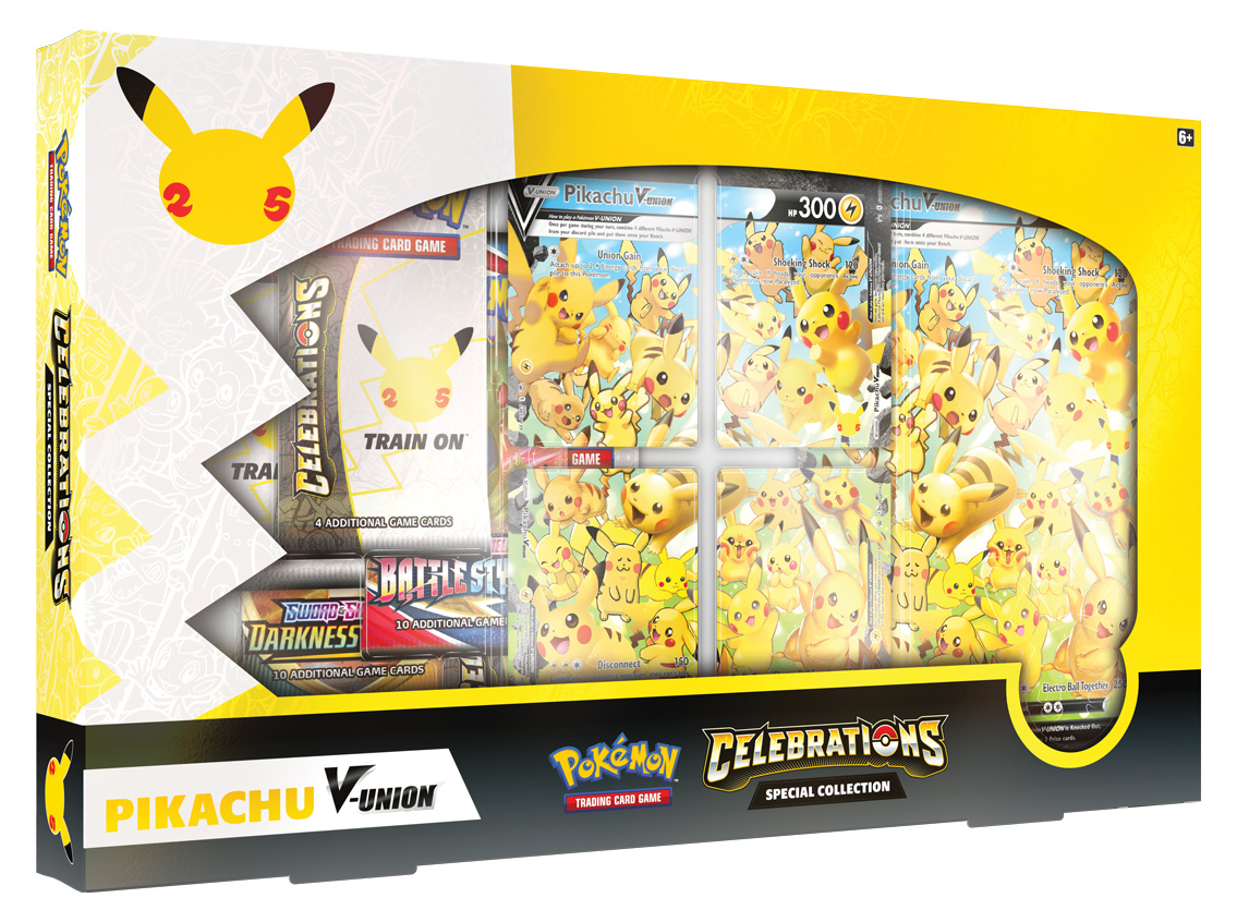 Celebrations Special Collection: Pikachu V-Union LIMITED PER CUSTOMER