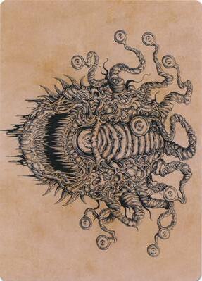 Baleful Beholder (Showcase) Art Card