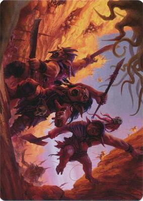 Goblin Art Card