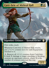 Catti-brie of Mithral Hall - Extended Art