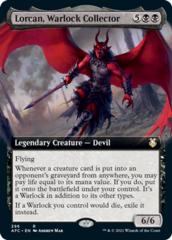 Lorcan, Warlock Collector - Extended Art