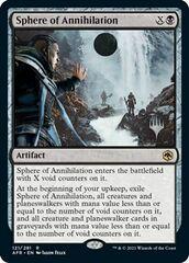 Sphere of Annihilation - Promo Pack