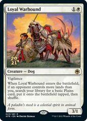 Loyal Warhound - Foil - Prerelease Promo
