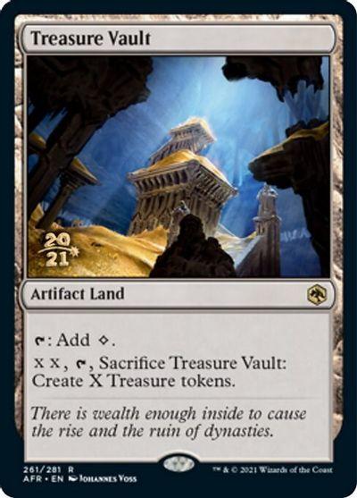 Treasure Vault - Foil - Prerelease Promo