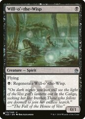Will-o-the-Wisp - The List