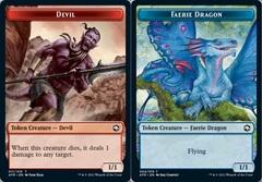 Devil Token // Faerie Dragon Token - Foil