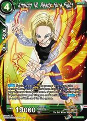 Android 18, Ready for a Fight - BT14-070 - R - Foil