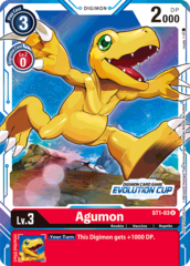 Agumon - ST1-03 (July Evolution Cup 2021 Prize)