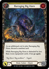 Barraging Big Horn (Yellow) - Unlimited Edition