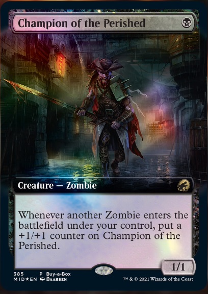 Champion of the Perished - Buy-a-Box Promo