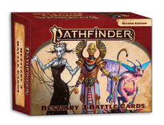 Pathfinder RPG (2nd Edition) Battle Cards: Bestiary 3 Battle Cards