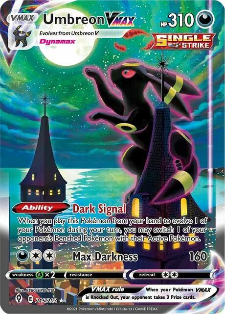 Umbreon VMAX - 215/203 - Secret Rare