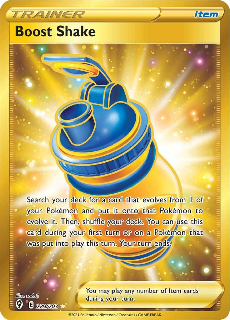 Boost Shake - 229/203 - Secret Rare