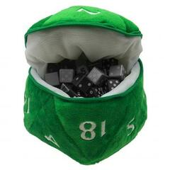 Ultra Pro - D20 Plush Dice Bag - Green