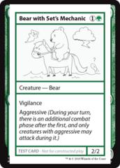 Bear with Set's Mechanic (No PW Symbol)