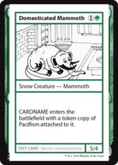 Domesticated Mammoth (No PW Symbol)