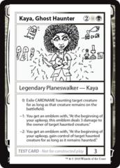 Kaya, Ghost Haunter (No PW Symbol)
