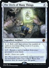 The Deck of Many Things - Foil - Ampersand Promo