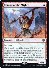 Minion of the Mighty - Foil - Ampersand Promo