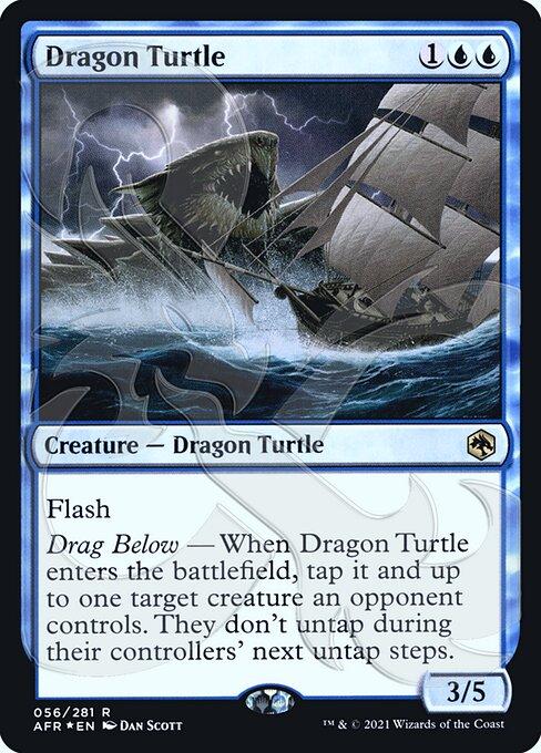 Dragon Turtle - Foil - Ampersand Promo