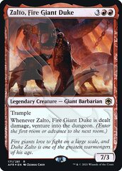 Zalto, Fire Giant Duke - Foil - Ampersand Promo