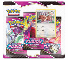 Sword & Shield - Fusion Strike 3-Booster Blister - Eevee