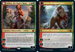 Arlinn, the Pack's Hope // Arlinn, the Moon's Fury