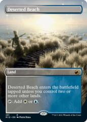 Deserted Beach - Foil - Borderless