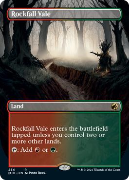 Rockfall Vale - Borderless