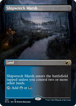 Shipwreck Marsh - Foil - Borderless