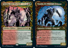 Tovolar, Dire Overlord // Tovolar, the Midnight Scourge - Foil - Showcase