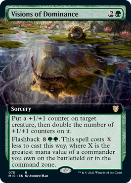 Visions of Dominance - Extended Art