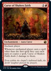 Curse of Shaken Faith - Foil