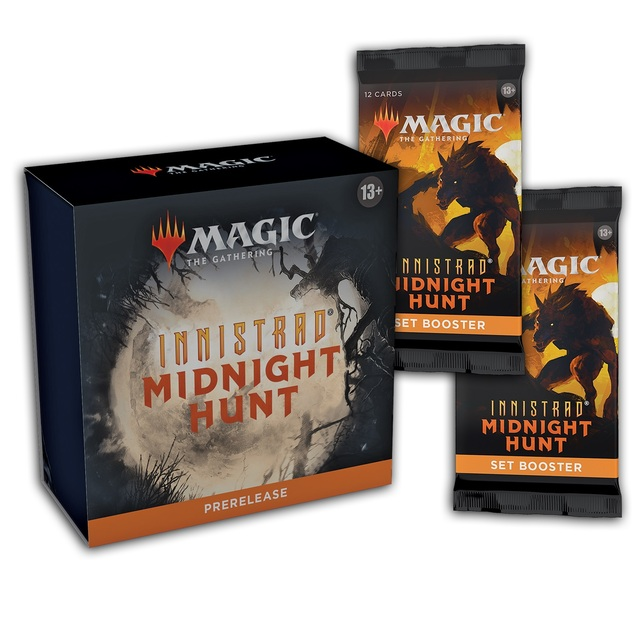 Innistrad: Midnight Hunt Prerelease at Home + 2 Set Booster Packs