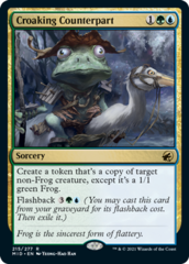 Croaking Counterpart - Foil