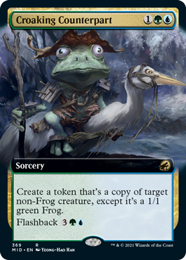 Croaking Counterpart - Extended Art