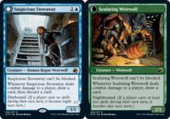Suspicious Stowaway // Seafaring Werewolf - Foil