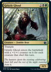 Grizzly Ghoul - Foil