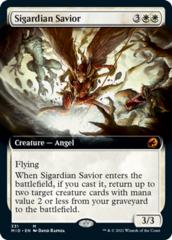 Sigardian Savior - Foil - Extended Art
