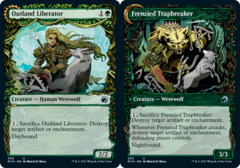 Outland Liberator // Frenzied Trapbreaker - Foil - Showcase