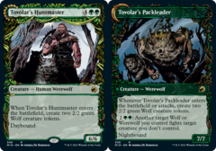 Tovolar's Huntmaster // Tovolar's Packleader - Foil - Showcase