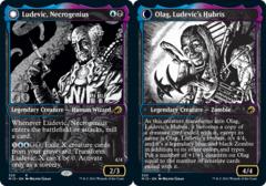 Ludevic, Necrogenius // Olag, Ludevic's Hubris - Foil - Showcase