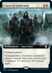 Curse of Conformity - Extended Art