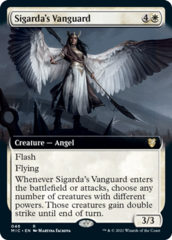 Sigarda's Vanguard - Extended Art