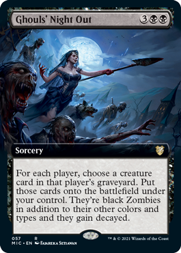 Ghouls Night Out - Extended Art