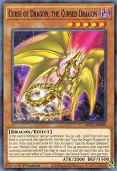 Curse of Dragon, the Cursed Dragon - MP21-EN098 - Common - 1st Edition